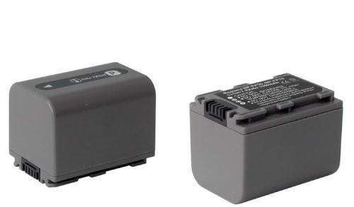 Baterie Sony NP-FP70, 7,2V (7,4V) - 1500mAh