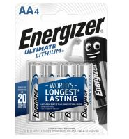 Baterie Energizer Ultimate AA, L91, Lithium, 35035752, (Blistr 4ks)