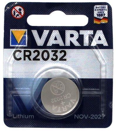 Baterie Varta Lithium 6032, CR2032, 3V, 06032 101401, (Blistr 1ks)