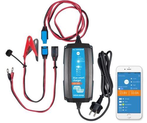Nabíječka baterií Victron Energy 12V/15A, BlueSmart, IP65+DC konektor