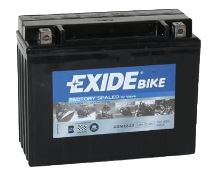 Motobaterie EXIDE BIKE Factory Sealed 21Ah, 12V, 350A, AGM12-23 (YTX24HL-BS)