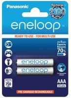 Baterie Panasonic Eneloop BK-4MCCE, AAA, 750mAh, (blistr 2ks)
