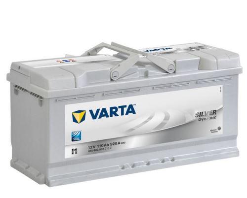 Autobaterie VARTA Silver Dynamic 110Ah, 12V, 920A, (I1)