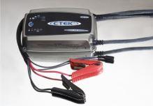 Nabíječka CTEK MXS 25000 EXT, 12V, 25A, 6m kabely + držák na zeď