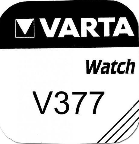 Baterie Varta Watch 377, 376, AG4, 177, LR626, hodinková (Blistr 1ks)