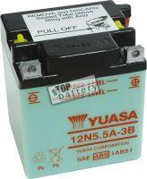 Motobaterie YUASA 12N5,5A-3B, 12V, 5,5Ah