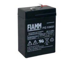 Olověný akumulátor Fiamm FG10451, 4,5Ah, 6V, (faston 187)