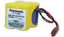 Panasonic Pack BR2/3AGCT4A, 2400mAh, 6V, Lithium, s konektorem