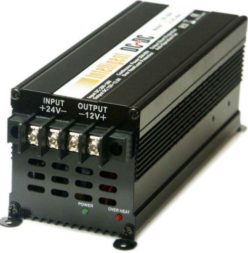 Měnič napětí z 24V DC na 12V DC 40A trvale, 50A max.