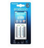 Nabíječka Panasonic Eneloop Charger BQ-CC50 + 2xBK-3MCCE, AA, 1900mAh