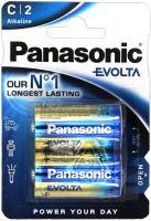 Baterie Panasonic Evolta Alkaline, LR14, C, (Blistr 2ks)