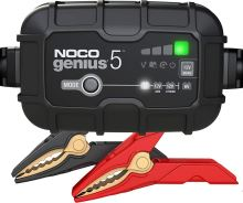 Automatická nabíječka NOCO GENIUS 5 , 6/12V, 5A, (MF/AGM/GEL/STD)