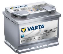 Autobaterie VARTA Silver Dynamic AGM (START-STOP) 60Ah (D52)
