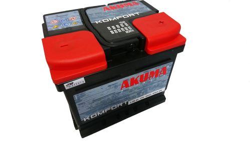 Autobaterie Akuma Komfort 12V, 44Ah, 420A, 7905539