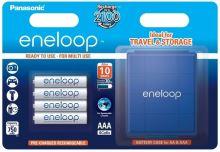 Baterie Panasonic Eneloop Akkubox BK-4MCCE, AAA, 750mAh, (blistr 4ks) + box