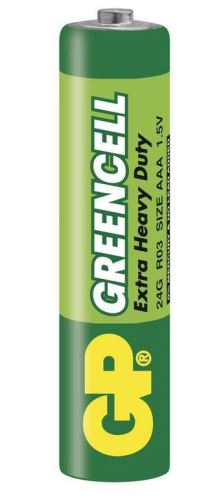 Baterie GP Greencell 24G, R03, primární AAA, 1012102000, 1ks