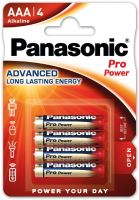Baterie Panasonic Pro Power, LR03, AAA, (Blistr 4ks)