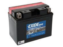 Motobaterie EXIDE BIKE Maintenance Free 9,5Ah,12V, 120A, YT12A-BS