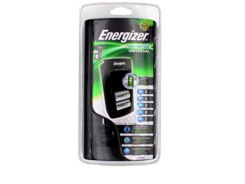 Nabíječka baterií Energizer EN001 universal pro AAA, AA, C, D, 9V led indikace