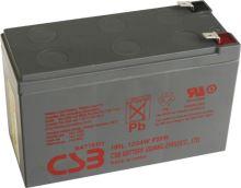 Akumulátor (baterie) CSB HRL1234W F2, 12V, 9Ah, Faston 250, široký
