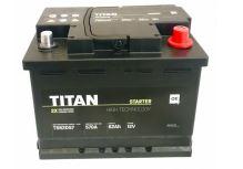 Autobaterie TITAN 12V, 62Ah, 570A