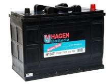 Autobaterie Hagen 110Ah, 12V, 750A