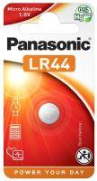 Baterie Panasonic A76, LR44, V13GA, 1BP, Alkaline, 1,5V (Blistr 1ks)