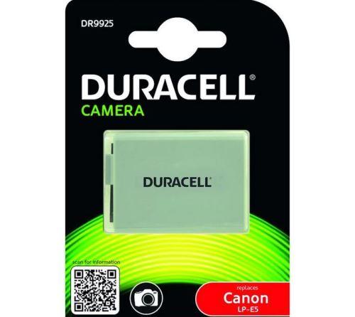 Baterie Duracell Canon LP-E5, 7,2V (7,4V) - 1020mAh