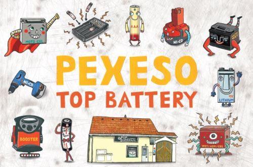 Naučné Pexeso Top Battery, Limitovaná edice
