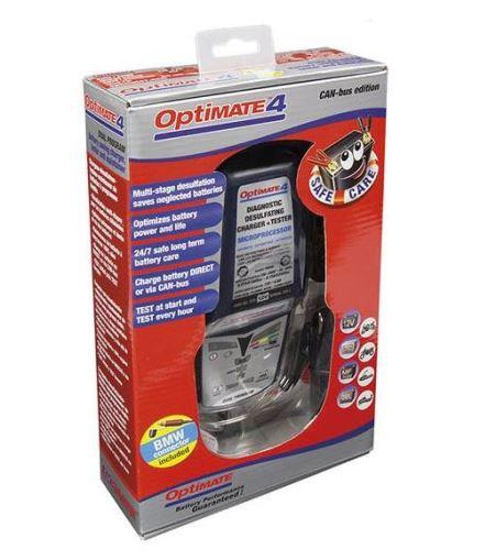 Nabíječka OptiMate 4 CAN-BUS, 12V, 0.8A, TM246/TM350 (automatická nabíječka)