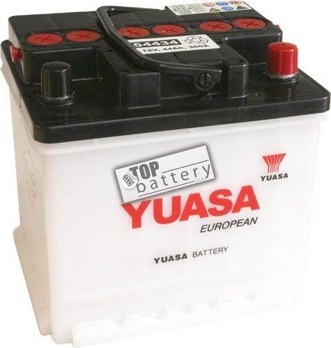 Autobaterie YUASA 54434, 44Ah, 12V, 360A (zprovozněná)