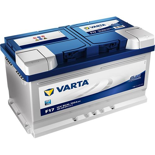 Autobaterie VARTA BLUE Dynamic 80Ah, 12V (F17)