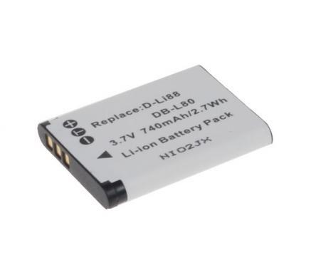 Baterie Pentax D-LI88, 3,6V (3,7V), 620mAh, 2,3Wh