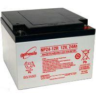 Záložní akumulátor (baterie) Genesis NP 12-24, 12V, 24Ah, Závit, M5