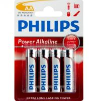 Baterie Philips LR6, AA, Power Alkaline, (Blistr 4ks)