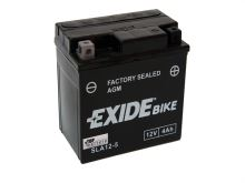 Motobaterie EXIDE BIKE Factory Sealed 5Ah, 12V, 70A, AGM12-5 (YTX5L-BS)
