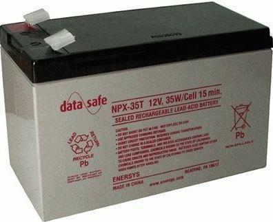 Záložní akumulátor (baterie) Genesis NPX 35-12WTFR, 9Ah, 12V, Faston 250, F2, široký