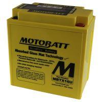 Motobaterie Motobatt MBTX16U,12V, 19Ah, 250A (YTX16-BS, YTX16-BS-1, YTX20CH-BS)