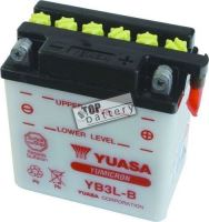Motobaterie Yuasa YB3L-B, 12V, 3Ah