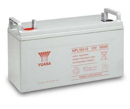 Záložní akumulátor (baterie) Yuasa NPL 100-12 I (100Ah, 12V)