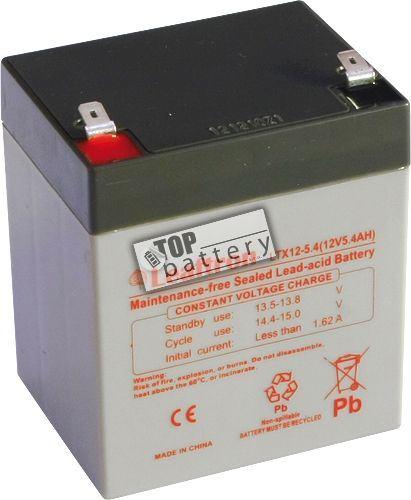 Akumulátor (baterie) Leaftron LTX12-5,4 T2, 12V - 5,4Ah