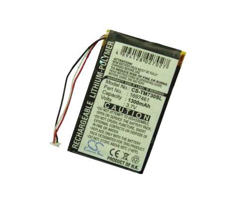 Baterie CS-TM730SL pro navigace TomTom 630, 720, 730, 930, 1300mAh, Li-Pol, (Blistr 1ks)