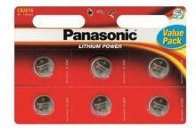 Baterie Panasonic CR2016 Lithium 3V, (Blistr 6ks)