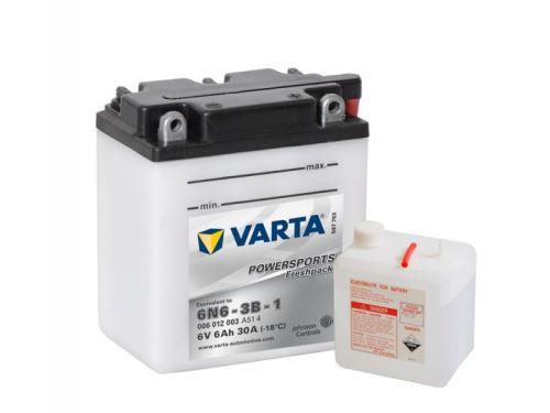 Motobaterie VARTA 6N6-3B-1, 6Ah, 6V