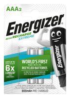 Baterie Energizer Extreme, HR6, AAA, 800mAh, (Blistr 2ks) nabíjecí