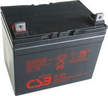 Akumulátor (baterie) CSB GP12340, 12V, 34Ah, šroubová spojka M6