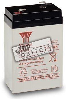 Záložní akumulátor (baterie) Yuasa NP 4-6 (4Ah, 6V)