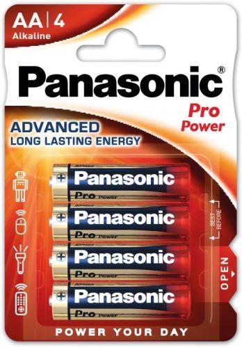 Baterie Panasonic Pro Power, LR6, AA, (Blistr 4ks)