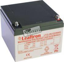 Akumulátor (baterie) Leaftron LT12-28, 12V - 28Ah