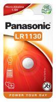 Baterie Panasonic LR1130, LR54, 389, 390, AG10, 189, Alkaline, 1,5V, (Blistr 1ks)